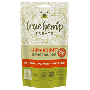 True Hemp priboljški za pse HIP & JOINT 50g