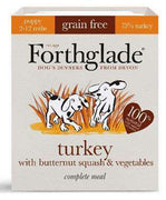 FORTHGLADE Complete Meal PUPPY puran & maslena buča 395g
