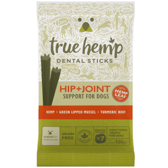 True Hemp dentalne palčke za pse HIP & JOINT 100g