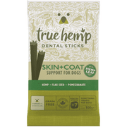 True Hemp dentalne palčke za pse SKIN & COAT 100g