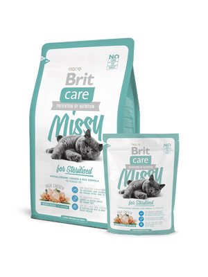 BRIT CARE MISSY FOR STERILISED-za sterilizirane mačke piščanec&riž