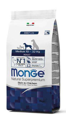 MONGE NATURAL MEDIUM ADULT