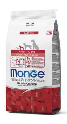 MONGE NATURAL MINI PUPPY & JUNIOR