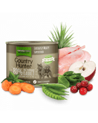 Natures Menu-Country Hunter pločevinka kunec&brusnice 600g