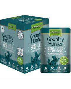 Natures Menu-Country Hunter mesna vrečka za mačke raca&fazan 85g