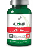 VET`S BEST SKIN & COAT tablete za pse 60 tablet