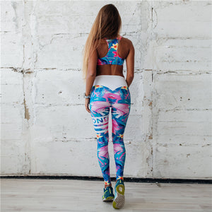 Floral Fitness Set - Activeland