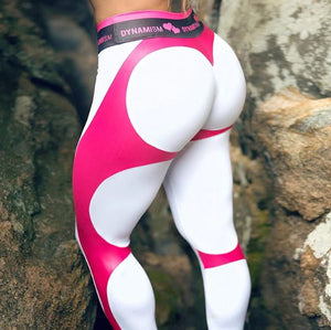 Dynamism Fitness Legging - Yoga Leggings, Fitness Pants, Active Pants, Printed Legging, Sexy Booty.