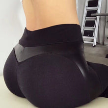 Load image into Gallery viewer, Black Heart Shape Booty - Yoga Leggings, Fitness Pants, Active Pants, Casual Legging, Sexy Booty.