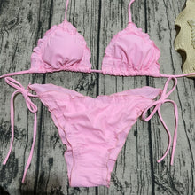Load image into Gallery viewer, Wave Ruffle Bikini Set - Activeland