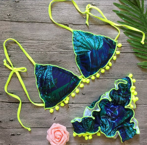 Green Forest Bikini Set - Activeland
