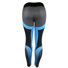 Load image into Gallery viewer, Honeycomb Legging - Yoga Leggings, Fitness Pants, Active Pants, Printed Legging.