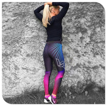Load image into Gallery viewer, Colorful Fitness Legging - Yoga Leggings, Fitness Pants, Active Pants, Printed Legging.