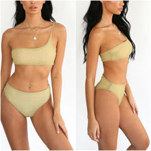 Load image into Gallery viewer, Sexy Gold Bikini Set - Activeland