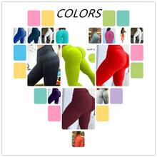 Load image into Gallery viewer, Green Push-Up Fitness Legging - Activeland