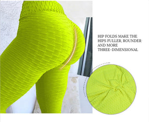 Green Push-Up Fitness Legging - Activeland