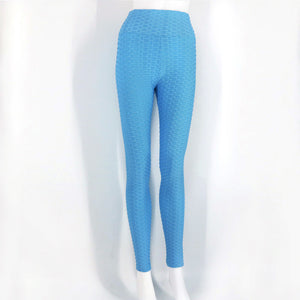 Light Blue Push-Up Fitness Legging - Activeland