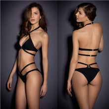 Load image into Gallery viewer, Backless Bandage Bikini Set - Buy Swimsuit online