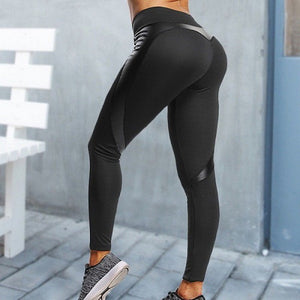 Black Heart Shape Booty - Yoga Leggings, Fitness Pants, Active Pants, Casual Legging, Sexy Booty.