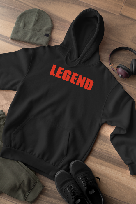 Legend Black Unisex Black Sweatshirt