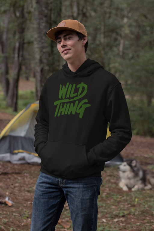 Wild Thing Olive T Shirt Sweatshirt