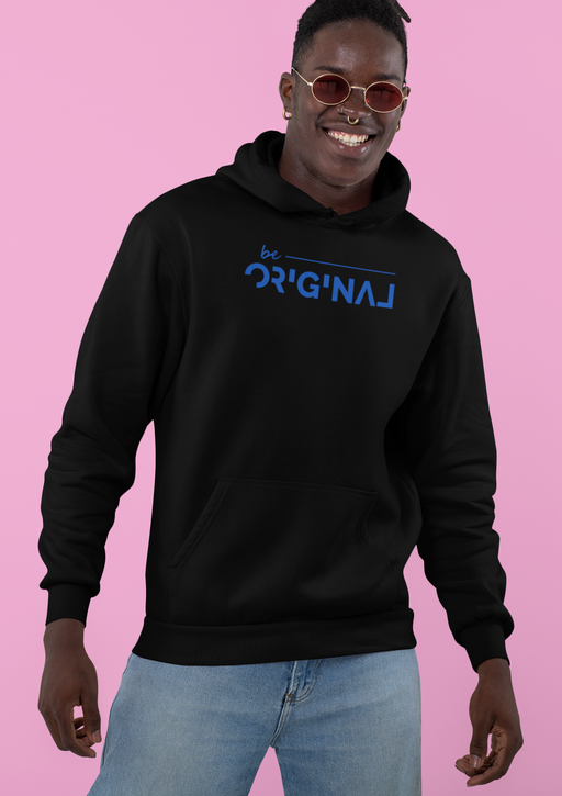 Be Original Navy T Shirt Sweatshirt