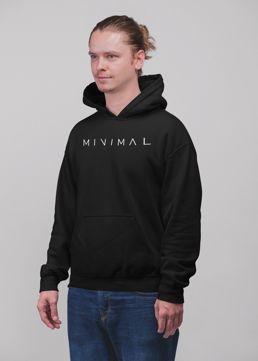 Minimal Black T Shirt Sweatshirt