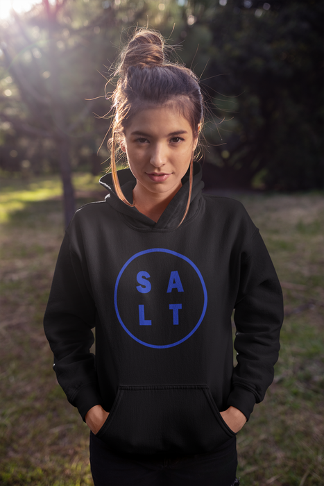 Salt Unisex Black Sweatshirt