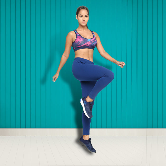Women Cobalt Leggings