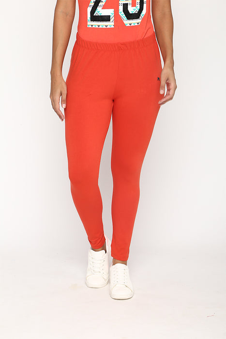 Womens Rust Leggings