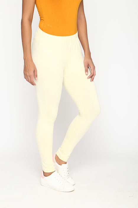 Womens Creame Leggings