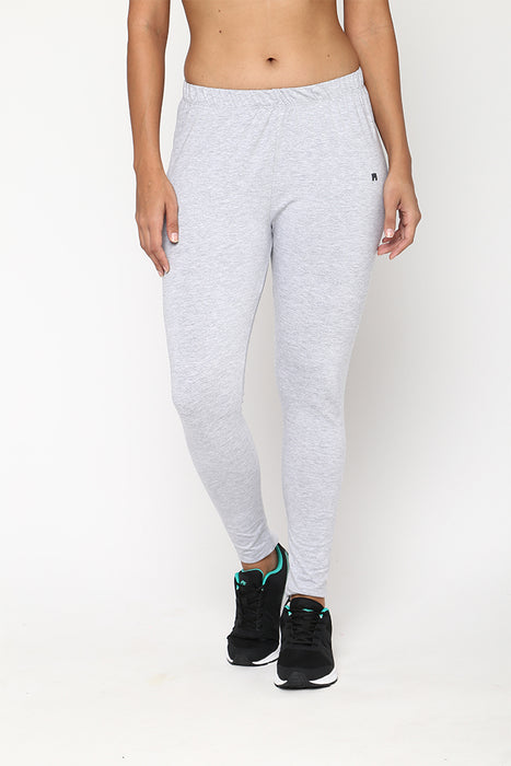 Womens Snow Melange Leggings