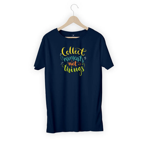 3234-collect-moment-not-things-women-half-t-shirt