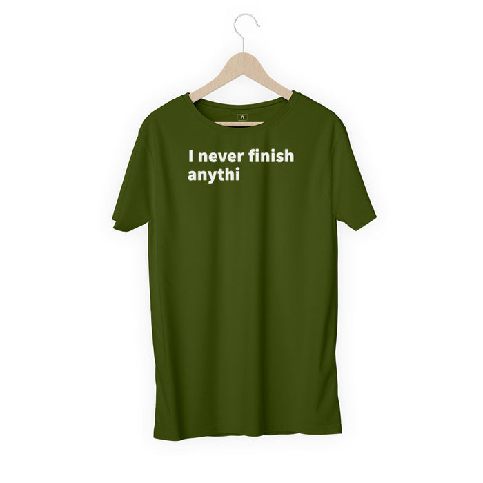 2382-i-never-finish-women-half-t-shirt