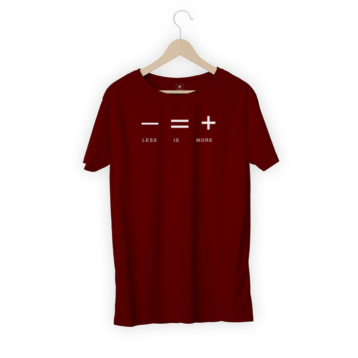 310-less-is-more-men-half-t-shirt