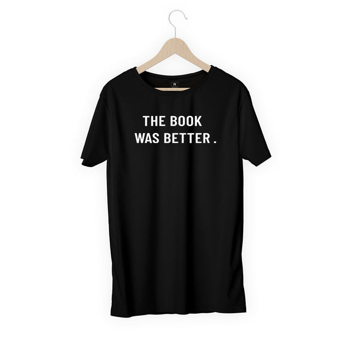 325-the-book-was-better-men-half-t-shirt