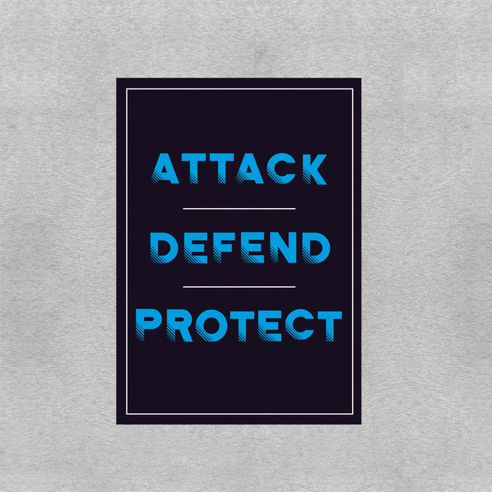 518-attack-defend-protect-men-half-t-shirt