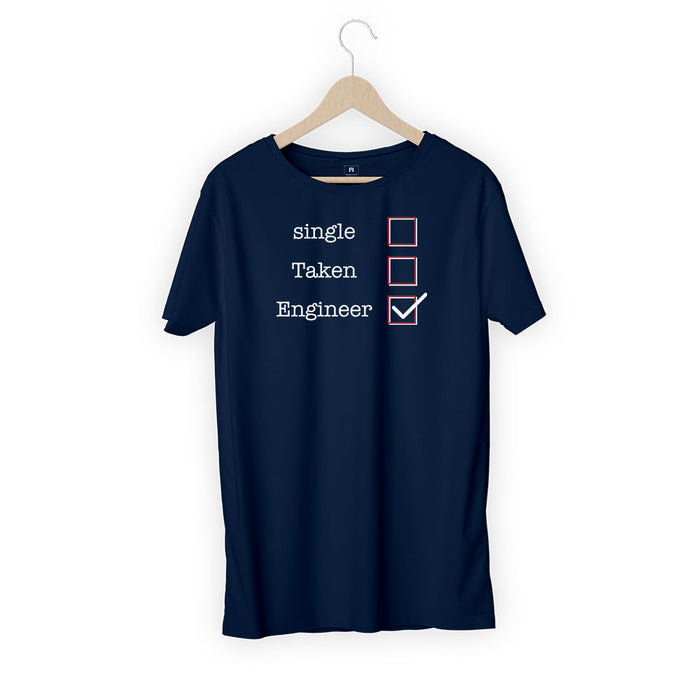 2184-single-taken-engineer-women-half-t-shirt