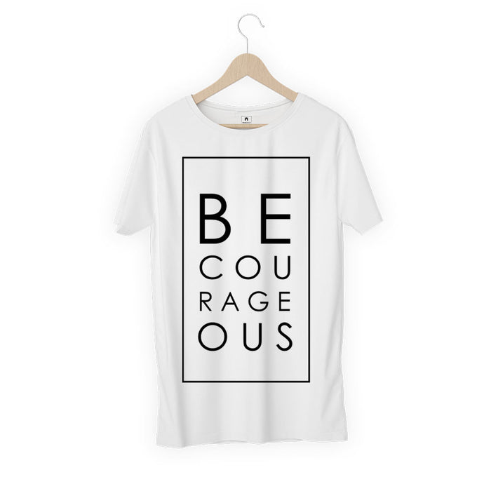 2306-be-courageous-women-half-t-shirt