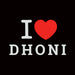 623-i-love-dhoni-men-half-t-shirt