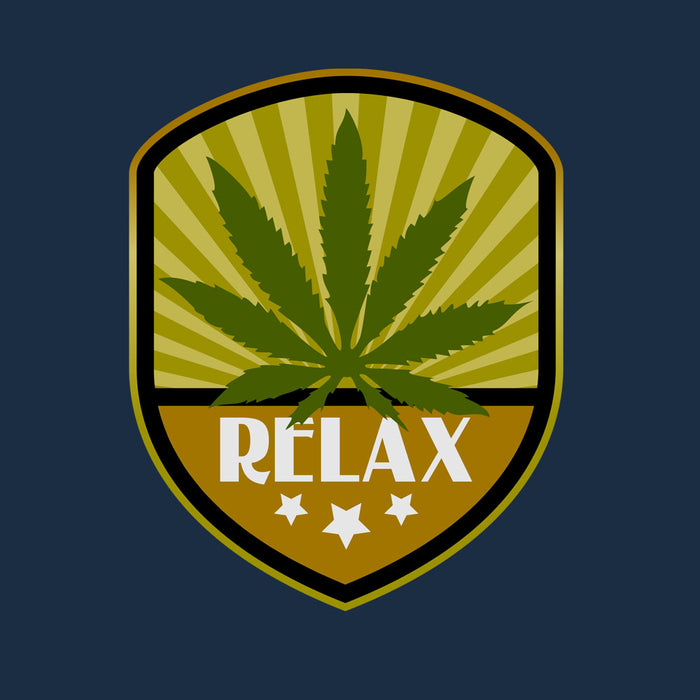 800-marijuana-relax-label-men-half-t-shirt