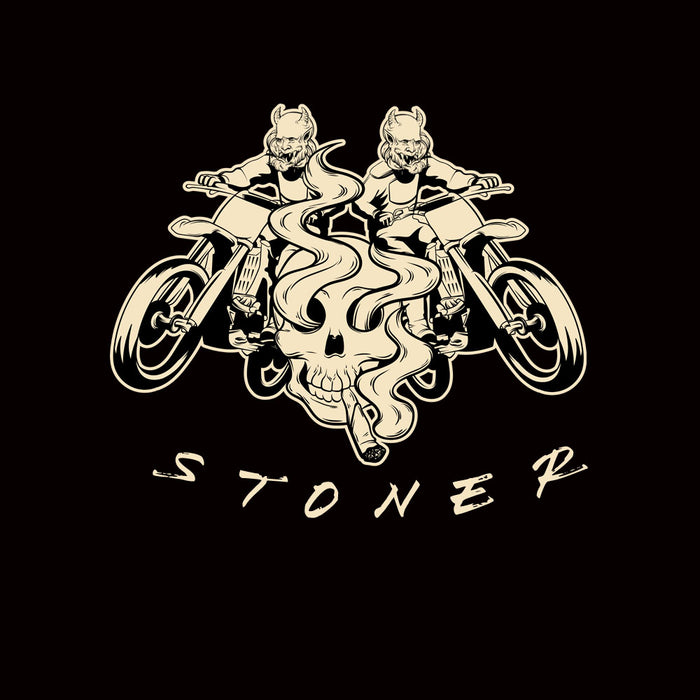 858-motorcyclist-stoner-men-half-t-shirt