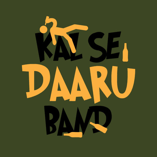 2660-kal-se-daru-band-women-half-t-shirt