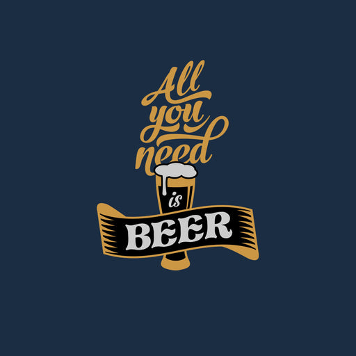 2692-all-you-need-is-beer-women-half-t-shirt