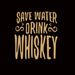 931-save-water-drink-whisky-men-half-t-shirt