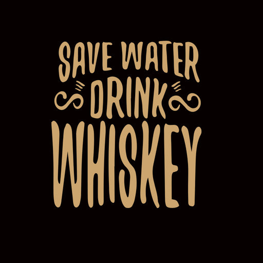 2707-save-water-drink-whisky-women-half-t-shirt