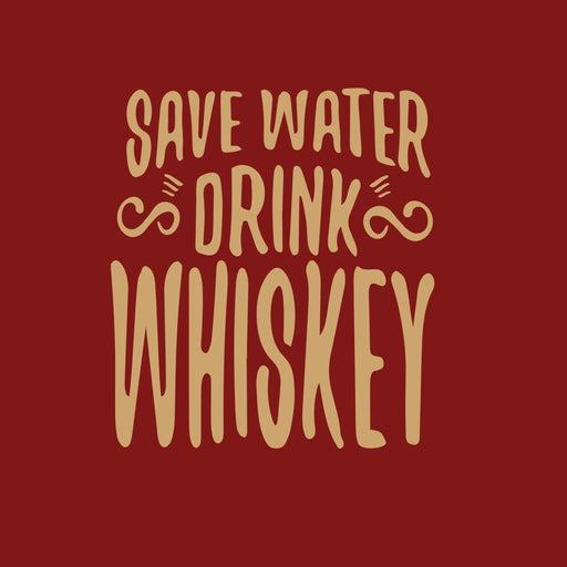 2708-save-water-drink-whisky-women-half-t-shirt