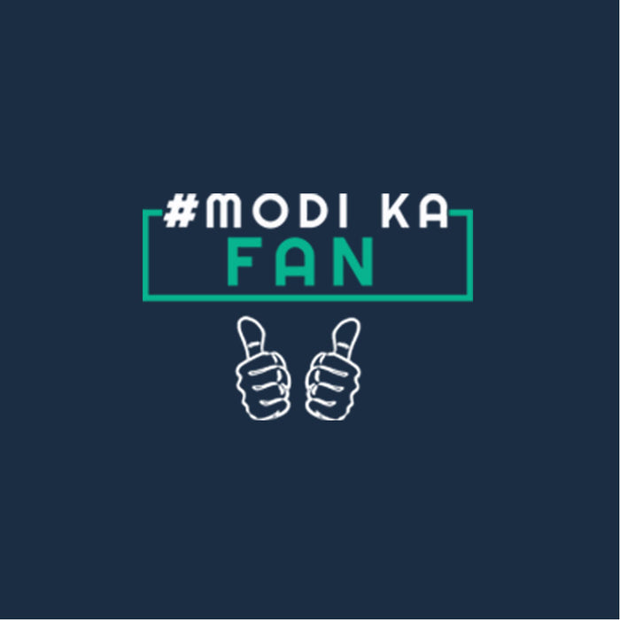 357-modi-ka-fan-men-half-t-shirt