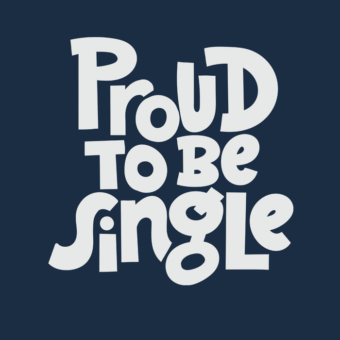 1458-proud-to-be-single-men-half-t-shirt