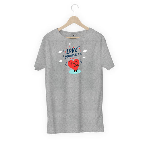 1470-love-yourself-men-half-t-shirt